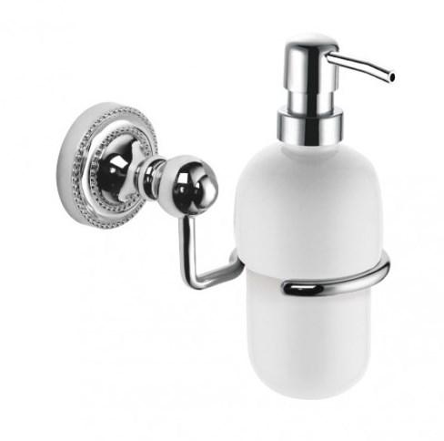 Дозатор жидкого мыла Fixsen Style FX-41112 Хром дозатор жидкого мыла grohe contemporary встраиваемый в столешницу хром 40536000