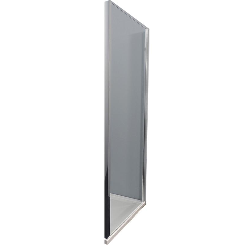 Luna TSV3D 90 ХромДушевые ограждения<br>Душевая стенка Kolpa San Luna TSV3D 90.<br><br>Профиль:<br>Материал: алюминий.<br>Цвет профиля: хром.<br>Покрытие Silver Brill: высококачественная гальваническая полировка.<br>Высокая герметичность.<br><br>Стекло:<br>Прозрачное закаленное стекло.<br>Толщина: 6 мм.<br><br>Непревзойденное качество, подтвержденное европейским сертификатом.<br>