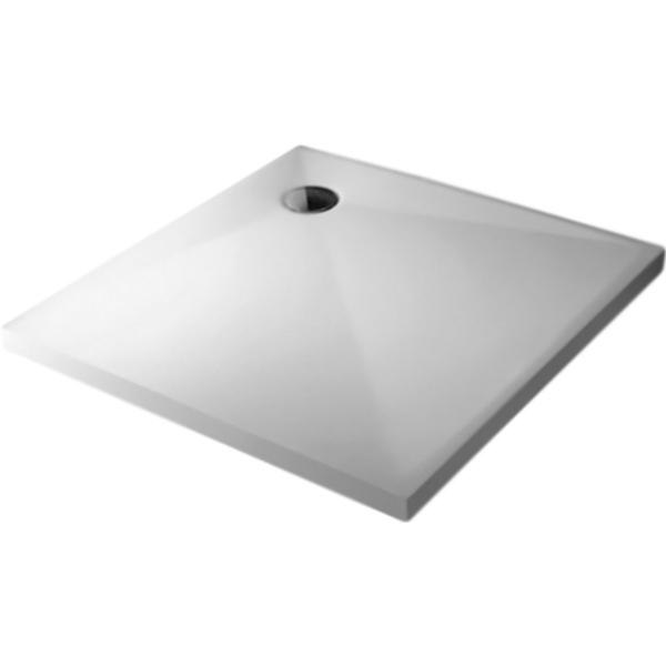 Душевой поддон из искусственного камня Kolpa San Duro 100x100x15 Белый