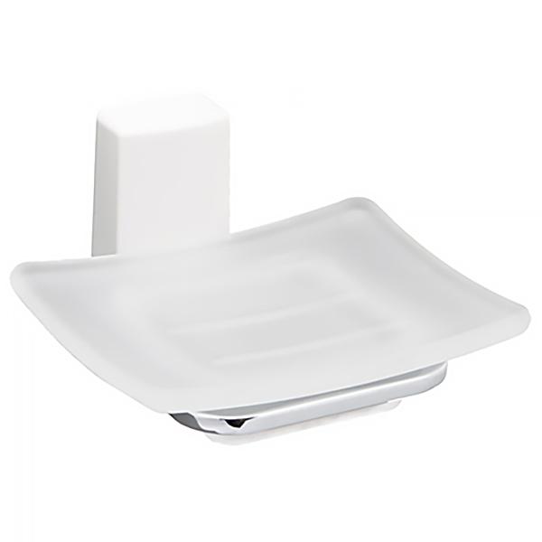 Leine К-5029WHITE ХромАксессуары для ванной<br>Мыльница стеклянная Wasser Kraft Leine К-5029WHITE с настенным креплением.<br>Универсальный и лаконичный дизайн изделия впишется в любой интерьер ванной комнаты.<br>Мыльница изготовлена из матового стекла. Материал держателя - металл с хромоникелевым покрытием, пластик.<br>Цвет: хром, белый.<br>
