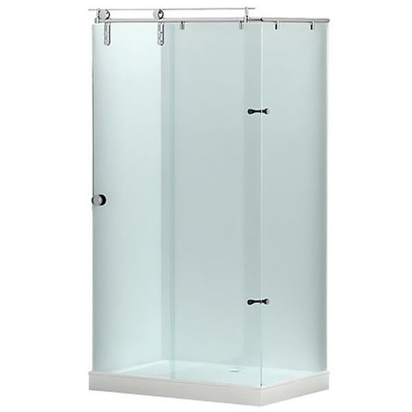Beta 120x80 тонированное стеклоДушевые ограждения<br>Душевой уголок Aquanet Beta 120x80 00174246. С одной раздвижной дверцей.<br>Прямоугольная форма обеспечивает экономию места в ванной комнате и достаточное пространство для принятия душа.<br>Профиль: <br>Материал: нержавеющая сталь.<br>Покрытие: хром.<br>Крепление к стенкам.<br>Легкое открытие двери благодаря роликам из нержавеющей стали.<br>Лаконичный дизайн и отсутствие лишних деталей.<br>Стекла:<br>Тонированное закаленное стекло.<br>Толщина: 8 мм.<br>Монтаж: на поддон. Установка в правый или левый угол.<br>Круглая ручка цвета хром.<br>В комплекте поставки: душевой уголок.<br>