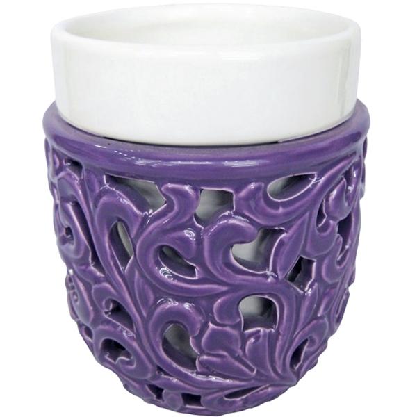 Стакан для зубных щеток Fixsen Livy A213-P1-3 Белый Фиолетовый