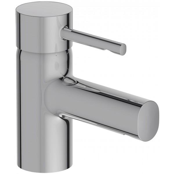 Cuff E98297-CP ХромСмесители<br>Смеситель для раковины Jacob Delafon Cuff E98297-CP однорычажный.<br>Простой и изящный смеситель для ванной комнаты в современном или минималистичном стиле.<br>Материал: латунь.<br>Покрытие: хром.<br>Керамический картридж.<br>Аэратор с технологией защиты от известковых отложений.<br>Точная регулировка снижает колебания температуры воды.<br>Экономия воды: уменьшенный расход при оптимальной производительности.<br>Расход: 5 литров в минуту при давлении 3 Бар.<br>Стандарт подводки: G 3/8.<br>В комплекте поставки: <br>Смеситель,<br>Набор креплений, <br>Гибкая подводка.<br>