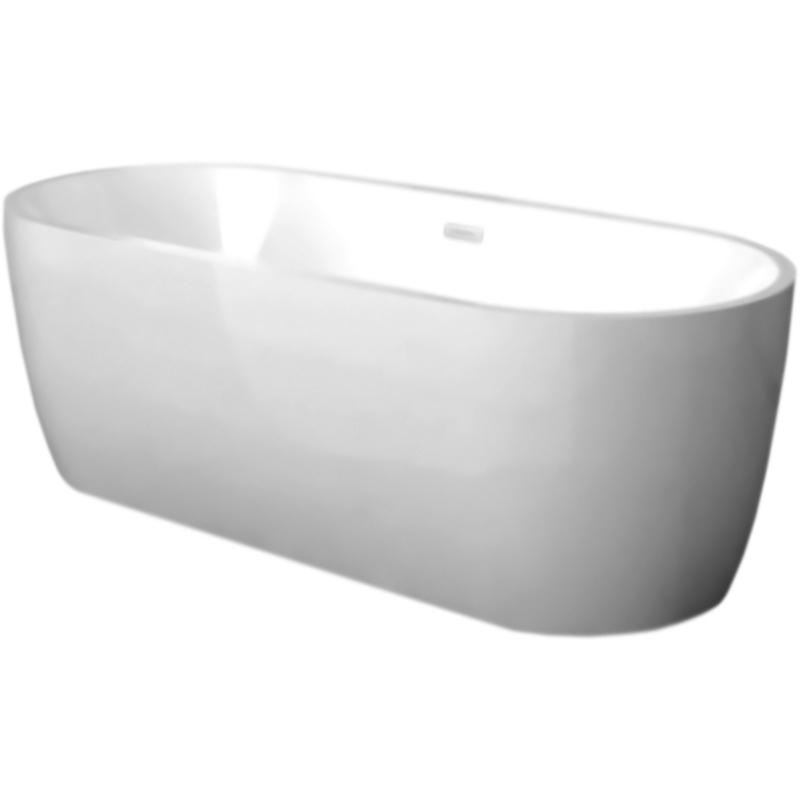 Акриловая ванна Abber AB9219 175x80 без гидромассажа акриловая ванна abber ab9245 169х75 без гидромассажа