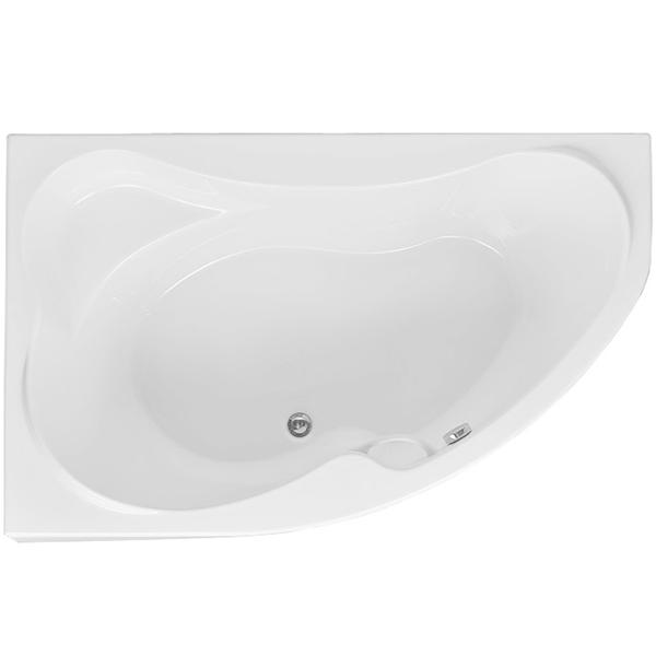 Capri 160x100 с гидромассажем RВанны<br>Акриловая ванна Aquanet Capri 160x100 R асимметричная угловая.<br>Правосторонняя.<br>Вместительная ванна с изящным дизайном дополнит интерьер ванной комнаты в современном стиле.<br>Изготовлена из качественного акрила: гладкого и теплого на ощупь материала. Он быстро нагревается и долго сохраняет тепло воды. Благодаря отсутствию пор на поверхности не скапливается грязь и микробы.<br>Антискользящее покрытие (специальные насечки на дне ванны).<br>Удобный угол наклона спинки.<br>Ручка.<br>Размер: 160x100x75 см.<br>Глубина: 50 см.<br>Объем: 296 л.<br>Гидромассажная система:<br>Плоские форсунки, плотно прилегающие к поверхности ванны. Ручная регулировка направления потока воды, индивидуальное включение или выключение каждой форсунки. <br>6 гидромассажных форсунок диаметром 77 мм.<br>Материал: латунь.<br>Цвет: хром.<br>В комплекте поставки: ванна, каркас, ручка, гидромассажная система.<br>