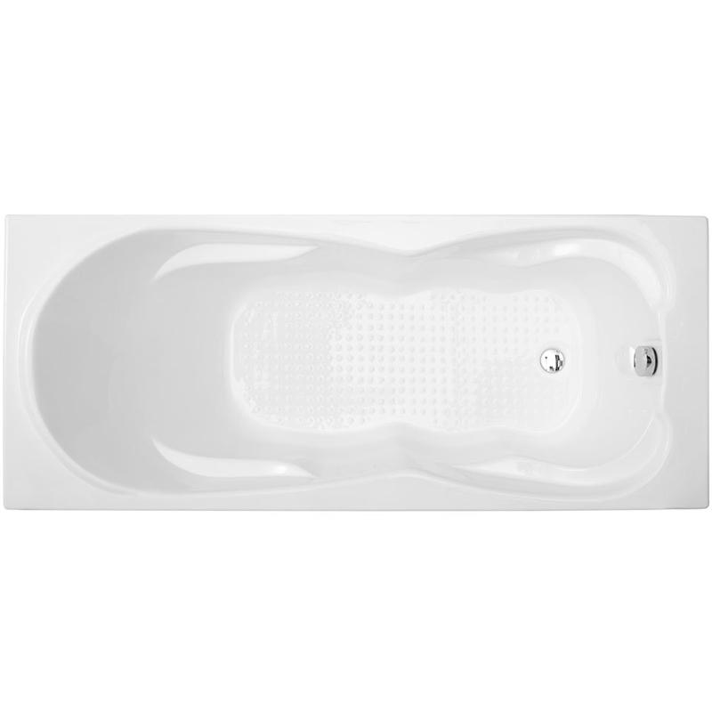 Viola 180x80 без гидромассажаВанны<br>Акриловая ванна Aquanet Viola 180x80 прямоугольная.<br>Вместительная ванна с изящным дизайном дополнит интерьер ванной комнаты в современном стиле.<br>Изготовлена из качественного акрила: гладкого и теплого на ощупь материала. Он быстро нагревается и долго сохраняет тепло воды. Благодаря отсутствию пор на поверхности не скапливается грязь и микробы.<br>Антискользящее покрытие (специальные насечки на дне ванны).<br>Удобный угол наклона спинки.<br>Размер: 180x80 см.<br>В комплекте поставки: ванна, каркас.<br>