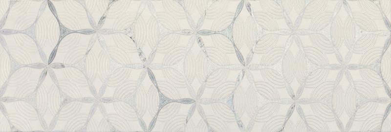 Керамический декор Gracia Ceramica Amelie grey 01 25х75 см