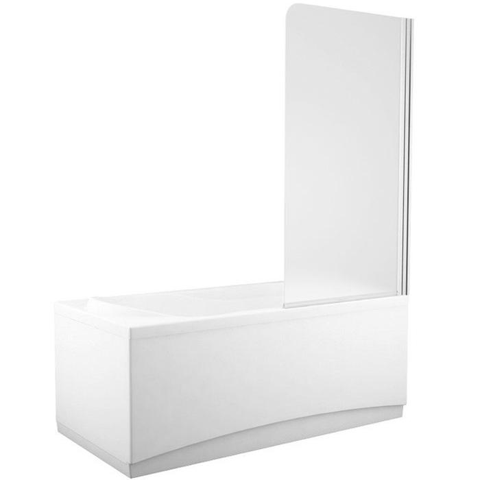 AQ6 67x140 L стекло матовоеДушевые ограждения<br>Шторка для ванны Aquanet AQ6 67x140 L 00182939 одинарная с матовым стеклом. Предотвращает расплескивание воды на пол и дополняет интерьер ванной комнаты.<br>Установка к левой стене.<br>Профиль: <br>Изготовлен из алюминия.<br>Противокоррозийное покрытие.<br>Легкая установка.<br>Крепление к вертикальной стене.<br>Стекло:<br>Матовое закаленное стекло. <br>Имеет мелкий клетчатый рисунок с еле заметной фактурой (на ощупь практически гладкое).<br>Толщина: 4 мм. <br>Поворот на 180 градусов.<br>Распахивается внутрь и наружу.<br>Объем поставки: душевая шторка, комплект креплений.<br>