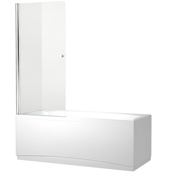 Alfa NF6211 75x135 стекло прозрачноеДушевые ограждения<br>Шторка для ванны Aquanet Alfa NF6211 75x135 00196050 распашная одинарная с прозрачным стеклом. Предотвращает расплескивание воды на пол и дополняет интерьер ванной комнаты.<br>С универсальной ориентацией.<br>Профиль: <br>Изготовлен из алюминия.<br>Противокоррозийное покрытие.<br>Легкая установка.<br>Крепление к вертикальной стене.<br>Стекло:<br>Прозрачное закаленное стекло. <br>Покрытие EasyClean: защитный слой, препятствующий образованию подтеков. Упрощает уборку и позволяет стеклу дольше оставаться чистым.<br>Толщина: 5 мм. <br>Поворот на 180 градусов.<br>Распахивается внутрь и наружу.<br>Объем поставки: душевая шторка, комплект креплений.<br>