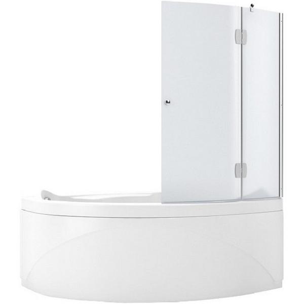Jamaica AQ2 100x135 L стекло матовоеДушевые ограждения<br>Шторка для ванны Aquanet Jamaica AQ2 100x135 L 00174017 двойная с матовым фактурным стеклом. Предотвращает расплескивание воды на пол и дополняет интерьер ванной комнаты.<br>Левосторонняя.<br>Профиль: <br>Изготовлен из алюминия.<br>Противокоррозийное покрытие.<br>Легкая установка.<br>Крепление к вертикальной стене.<br>Стекло:<br>Матовое закаленное стекло. <br>Имеет мелкий клетчатый рисунок с еле заметной фактурой (на ощупь практически гладкое).<br>Толщина: 4 мм. <br>Поворот на 180 градусов.<br>Складная.<br>Объем поставки: душевая шторка, комплект креплений.<br>