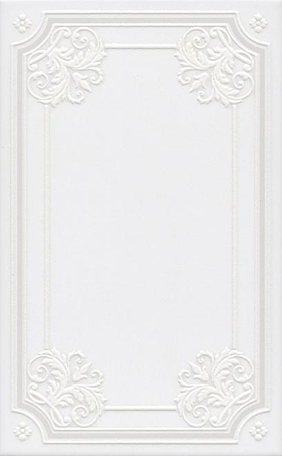 Керамический декор Kerama Marazzi Петергоф белый STGA5606304 25х40 см керамический декор kerama marazzi петергоф овал obc001 8 5х12 5 см