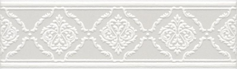 Керамический бордюр Kerama Marazzi Петергоф белый STGA5626304 25х7,7 см стоимость