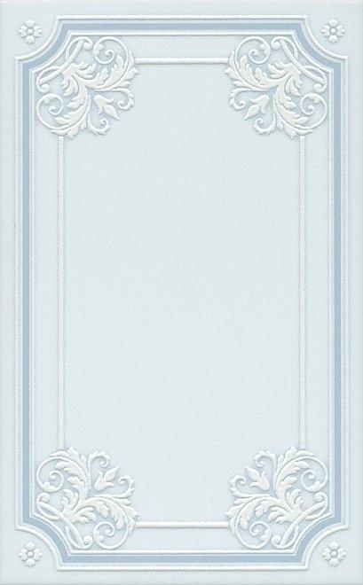 Керамический декор Kerama Marazzi Петергоф голубой STGB5606305 25х40 см керамический декор kerama marazzi петергоф овал obc001 8 5х12 5 см