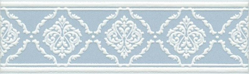 Керамический бордюр Kerama Marazzi Петергоф голубой STGB5626305 25х7,7 см стоимость