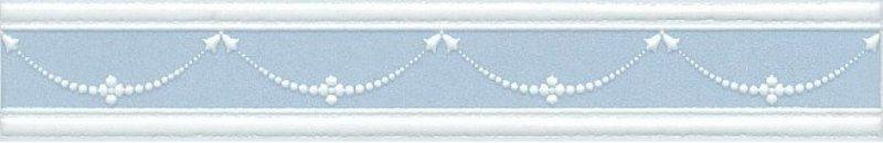 Керамический бордюр Kerama Marazzi Петергоф голубой STGB5636305 25х4,2 см стоимость