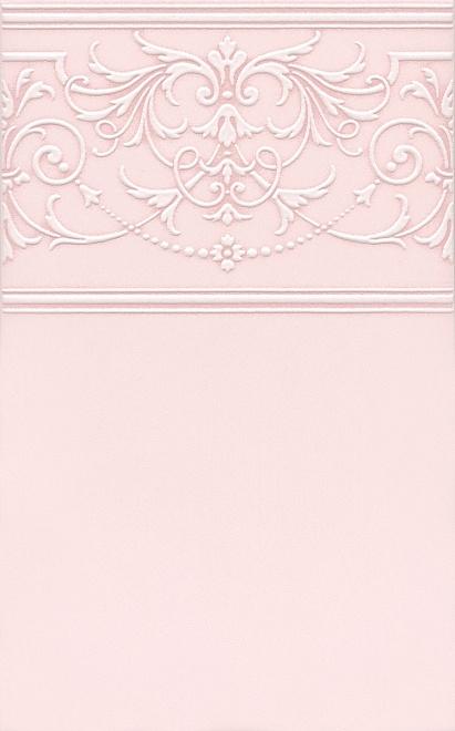 Керамический декор Kerama Marazzi Петергоф розовый STGC5616306 25х40 см керамический декор kerama marazzi петергоф овал obc001 8 5х12 5 см