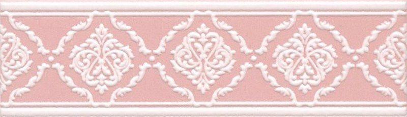 Керамический бордюр Kerama Marazzi Петергоф розовый STGC5626306 25х7,7 см стоимость
