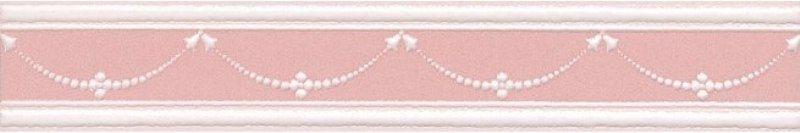Керамический бордюр Kerama Marazzi Петергоф розовый STGC5636306 25х4,2 см керамический декор kerama marazzi петергоф овал obc001 8 5х12 5 см