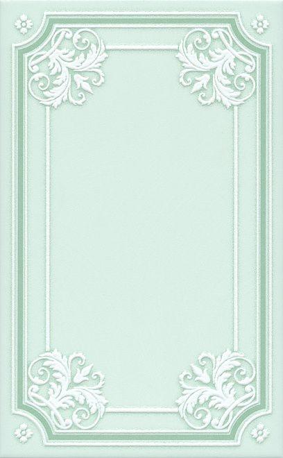 Керамический декор Kerama Marazzi Петергоф зелёный STGD5606307 25х40 см керамический декор kerama marazzi петергоф овал obc001 8 5х12 5 см