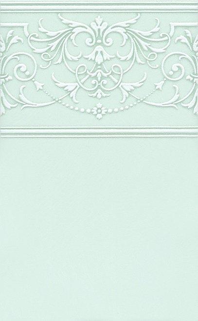 Керамический декор Kerama Marazzi Петергоф зелёный STGD5616307 25х40 см керамический декор kerama marazzi петергоф овал obc001 8 5х12 5 см