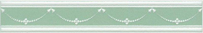 Керамический бордюр Kerama Marazzi Петергоф зелёный STGD5636307 25х4,2 см стоимость
