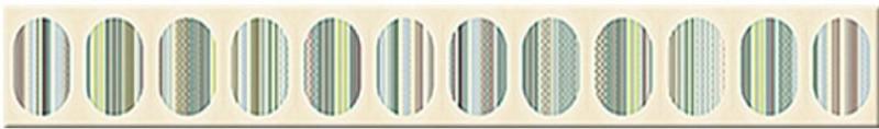 Керамический бордюр Azori Boho Verde Geometry 7,5х63 см стоимость
