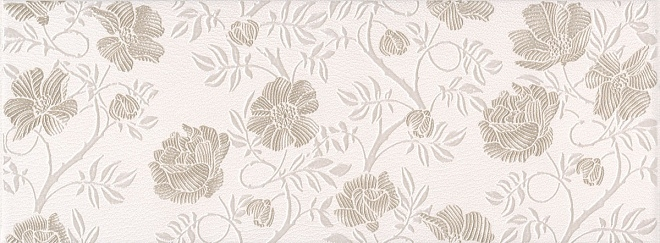 Керамический декор Kerama Marazzi Сафьян цветы AR14615054 15х40 см цена