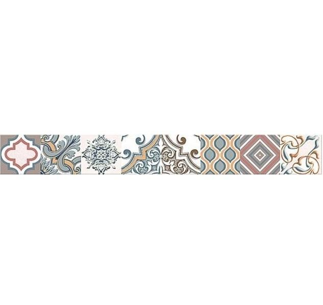 Керамический бордюр Azori Eclipse Selena 6,2х50,5 см бордюр azori arte