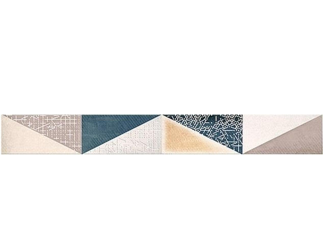 Керамический бордюр Azori Eclipse Indigo mix 6,2х50,5 см бордюр azori arte