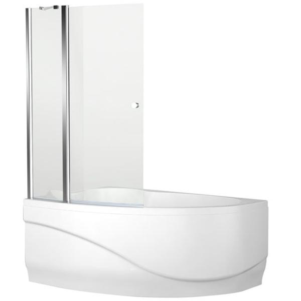 Mayorca Alfa 3 NF7221-1 Pivot 93x140 стекло прозрачноеДушевые ограждения<br>Шторка для ванны Aquanet Mayorca Alfa 3 NF7221-1 pivot 93x140 00196048 двойная с прозрачным стеклом. Предотвращает расплескивание воды на пол и дополняет интерьер ванной комнаты.<br>Универсальная.<br>Профиль: <br>Изготовлен из алюминия.<br>Противокоррозийное покрытие.<br>Легкая установка.<br>Крепление к вертикальной стене.<br>Стекло:<br>Прозрачное закаленное стекло. <br>Покрытие EasyClean: предотвращает образование подтеков, облегчает уборку и позволяет стеклу дольше оставаться чистым.<br>Толщина: 5 мм. <br>Одна фиксированная и одна распашная часть.<br>Открытие на 90 градусов внутрь и наружу.<br>Объем поставки: душевая шторка, комплект креплений.<br>