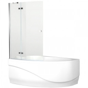 Шторка для ванны Aquanet Mayorca Beta 3 NF7221-1 Hinge 96x140 - фото