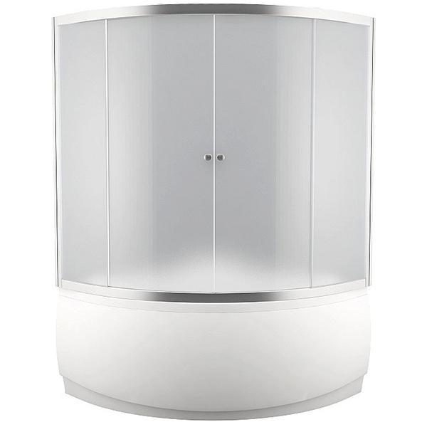 Malta 150x160 стекло прозрачноеДушевые ограждения<br>Шторка для ванны Aquanet Malta 150x160 00154814 с двумя раздвижными дверцами с прозрачным стеклом. Предотвращает расплескивание воды на пол и дополняет интерьер ванной комнаты.<br>Универсальная.<br>Профиль: <br>Изготовлен из алюминия.<br>Противокоррозийное покрытие.<br>Легкая установка.<br>Плавный и бесшумный ход дверок.<br>Крепление к вертикальной стене и к бортику ванны.<br>Стекло:<br>Прозрачное закаленное стекло. <br>Толщина: 5 мм. <br>Две фиксированные части, две раздвижные дверки.<br>Объем поставки: душевая шторка, комплект креплений.<br>