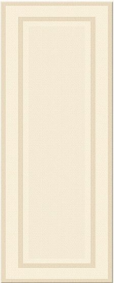 Керамическая плитка Azori Savoy Avorio Cornice настенная 20,1х50,5 см