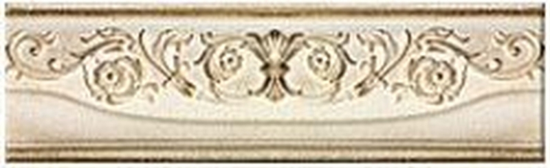 Керамический бордюр Azori Savoy Avorio 6,2х20,1 см