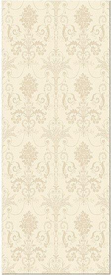 Керамическая плитка Azori Savoy Avorio Ornato настенная 20,1х50,5 см