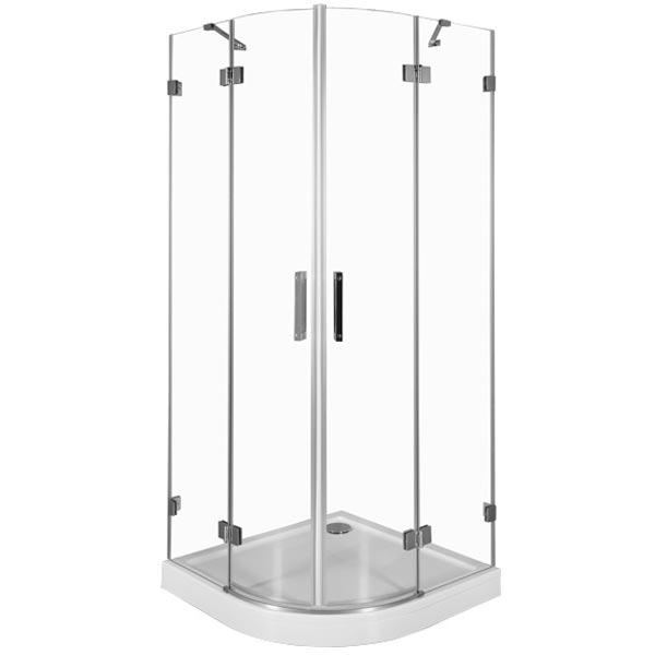 Beta NWD2242 90х90 радиальный профиль Хром стекло прозрачноеДушевые ограждения<br>Стеклянный душевой уголок Aquanet Beta NWD2242 90x90 устанавливается в угол ванной комнаты, что обеспечивает экономию и эффективное использование пространства. Монтаж душевого уголка возможен как на поддон, так и непосредственно на пол, оборудованный для душа.<br>Распашные дверцы душевого уголка Акванет Бета выполнены из прозрачного высокопрочного каленого стекла и имеют инновационное покрытие Easy Clean, которое препятствует скоплению капель воды на поверхности стекла и предотвращает появление подтеков.<br><br>Состав комплектации:<br>Стекло 8 мм<br>Профиль из нержавеющей стали SS 304, покрытие хром<br>