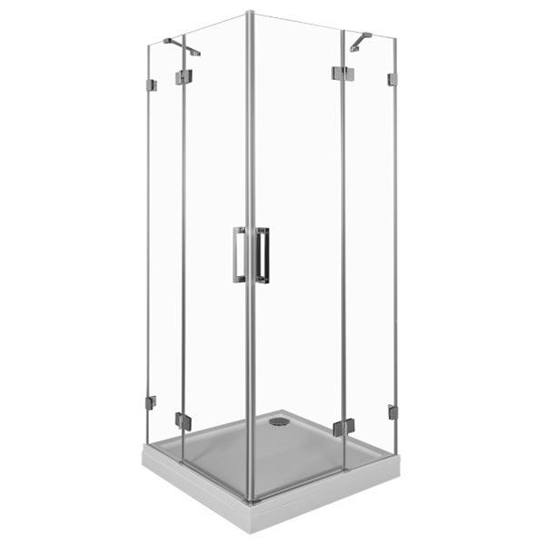 Beta Cube NWD1242 100x100 Профиль хром, стекло прозрачноеДушевые ограждения<br>Стеклянный душевой уголок Aquanet Beta Cube NWD1242 100x100 устанавливается в угол ванной комнаты, что обеспечивает экономию и эффективное использование пространства. Монтаж душевого уголка возможен как на поддон, так и непосредственно на пол, оборудованный для душа.<br>Распашные дверцы душевого уголка Акванет Бета Куб выполнены из прозрачного высокопрочного каленого стекла и имеют инновационное покрытие Easy Clean, которое препятствует скоплению капель воды на поверхности шторки и предотвращает появление подтеков.<br><br>Состав комплектации:<br>Стекло толщиной 8 мм<br>Профиль и крепеж из нержавеющей стали SS 304, покрытие хром<br>