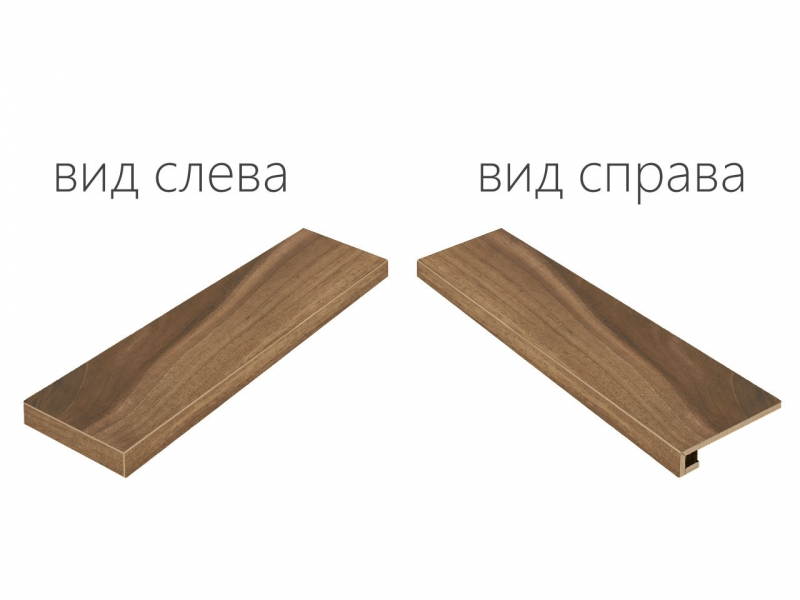 Ступень угловая левая Italon Maison Walnut 33х120 см весы unit ubs 2052 темно серый