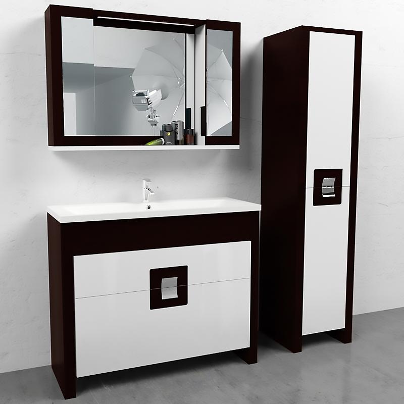 Quadro 90Мебель для ванной<br><br>