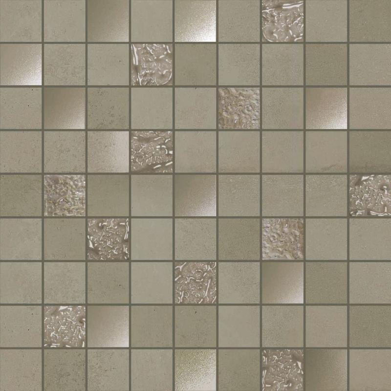 Керамическая мозаика Ibero Advance Mosaico Grey 31,6х31,6 см