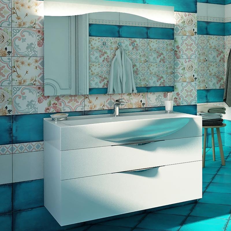 Dolce 85 подвесная Белый глянецМебель для ванной<br>Тумба под раковину Edelform Dolce 85 1-842-00-ELV85 подвесная.<br>Современная модель тумбы для ванной комнаты с двумя вместительными ящиками.<br>Изготовлена из ЛДСП.<br>Покрытие: Edelform Crystal с применением эмали Milesi (Италия).<br>Запеченная кромка корпусных деталей обеспечивает долговечность.<br>Экологическая безопасность всех материалов.<br>Выдвижные ящики со с направляющими скрытого монтажа и встроенными доводчиками.<br>Цвет фасада и корпуса: белый глянец.<br>Регулируемые навесы.<br>Монтаж: подвесная.<br>Гладкая глянцевая поверхность.<br>Габариты: 83,6x43x48 см.<br>В комплекте поставки: тумба. Поставляется в собранном виде.<br>
