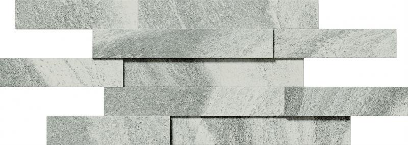 Керамическая вставка Italon Climb Iron Брик 3D 28х78 см