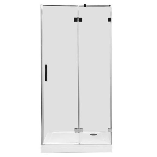 Beta NWD6221 100х200 R профиль Хром стекло прозрачноеДушевые ограждения<br>Стеклянная душевая дверь в нишу Aquanet Beta NWD6221 100х200 см. предполагает правостороннюю установку. Монтаж двери возможен как на поддон, так и непосредственно на пол, оборудованный для душа.<br>Металлическая ручка и профиль распашной двери для душа Акванет Бета NWD6221 изготовлены из нержавеющей стали с хромированным покрытием.<br>Высокопрочное каленое стекло имеет инновационное защитное покрытие Easy Clean, которое препятствует образованию подтеков и следов загрязнений на поверхности. <br>Состав комплектации: стекло толщиной 8 мм, профиль с установленными деталями, крепеж.<br>