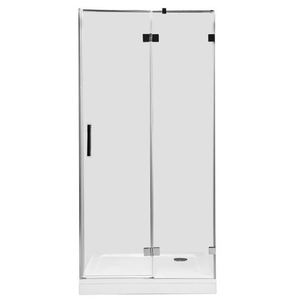 Beta NWD6221 90х200 R профиль Хром стекло прозрачноеДушевые ограждения<br>Стеклянная душевая дверь в нишу Aquanet Beta NWD6221 90х200 см. предполагает правостороннюю установку. Монтаж двери возможен как на поддон, так и непосредственно на пол, оборудованный для душа.<br>Металлическая ручка и профиль распашной двери для душа Акванет Бета NWD6221 изготовлены из нержавеющей стали с хромированным покрытием.<br>Высокопрочное каленое стекло имеет инновационное защитное покрытие Easy Clean, которое препятствует образованию подтеков и следов загрязнений на поверхности. <br>Состав комплектации: стекло толщиной 8 мм, профиль с установленными деталями, крепеж.<br>