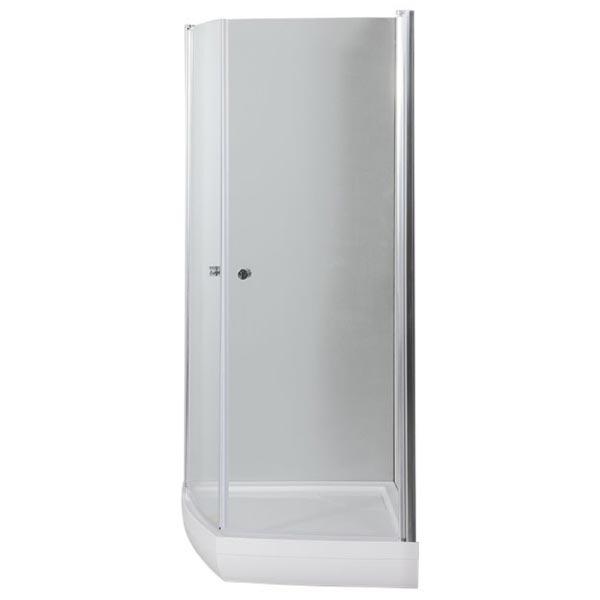 Ivo NK1222 100х90  R профиль Хром стекло прозрачноеДушевые ограждения<br>Стеклянный душевой уголок Aquanet Ivo NK1222 100x90 устанавливается в угол ванной комнаты, что обеспечивает экономию и эффективное использование пространства. Монтаж душевого уголка возможен как на поддон, так и непосредственно на пол, оборудованный для душа. Модель предполагает правостороннюю установку.<br>Распашные дверцы душевого уголка Акванет Иво NK1222 выполнены из прозрачного высокопрочного каленого стекла и имеют инновационное покрытие Easy Clean, которое препятствует скоплению капель воды на поверхности шторки и предотвращает появление подтеков.<br>Состав комплектации:<br>Стекло толщиной 6 мм<br>Профиль и крепеж из алюминия, покрытие хром<br>