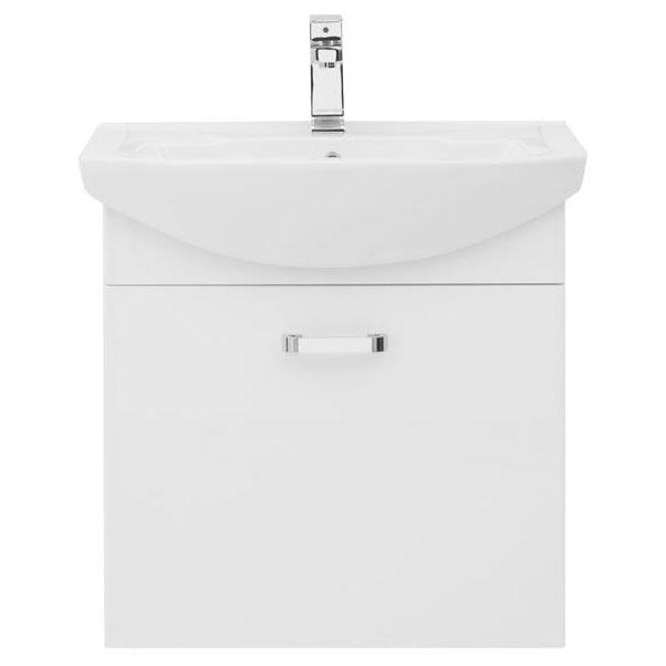 Ирис 65 БелаяМебель для ванной<br>Тумба под раковину Aquanet Ирис 65 00198382.<br><br>Тумбу можно подвесить. Пространство тумбы очень функционально: ящик вверху с отделениями под мелочь и распашные дверцы внизу, которые открываются простым нажатием на них (механизм Push ap).<br>Материал корпуса: Влагостойкий ЛДСП<br>Материал фасада: МДФ<br>Покрытие: Краска/глянец<br>Цвет фурнитуры: Хром<br>Конструкция дверей: Распашные/Раздвижные<br>Конструкция дверей: Распашные/Раздвижные.<br>Количество выдвижных дверок: 1.<br>Тип дверок: распашные.<br>Количество полок: 1.<br>Цвет: Белый<br><br>