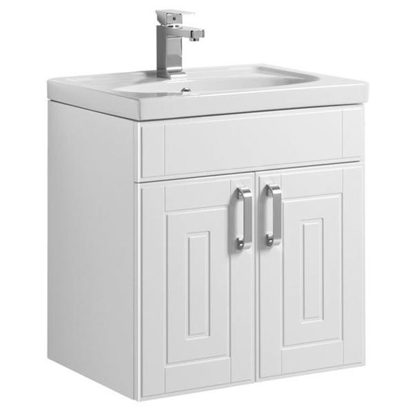 Рондо 60 подвесная Белый антикМебель для ванной<br>Тумба под раковину Aquanet Рондо 60 00196778 напольная для ванной комнаты в стиле модерн.<br>Корпус тумбы изготовлен из влагостойкой ЛДСП со специальным многослойным покрытием краской, фасад – из МДФ. Поверхность изделия глянцевая, что придает ноту изысканности.<br>Конструкция: 2 распашных дверцы с доводчиками для плавного бесшумного закрывания.<br>Габариты изделия: 61 х 65.5 х 44.5 см.<br>Цвет мебели: Белый антик.<br>Фурнитура: удобные ручки высокого качества цвета Хром.<br>Объем поставки: тумба под раковину, крепления.<br>