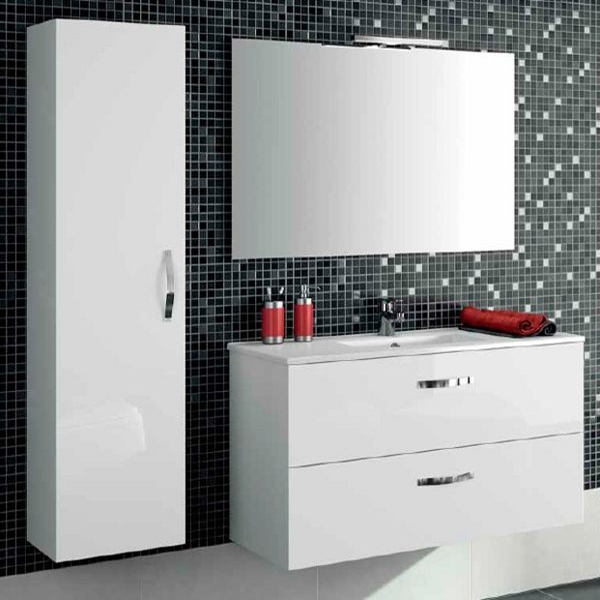 Ola 100 подвесная Серый антрацитМебель для ванной<br>Подвесная тумба под раковину Jacob Delafon Ola 100 EB392-N14.<br><br><br>Тумба коллекции Ola отличается утонченным и лаконичным стилем исполнения с преобладанием прямых линий. Она сочетает в себе практичность и функциональность. Мебель этой серии отлично впишется в интерьер ванной комнаты в современном дизайне.<br><br><br><br>Габариты изделия: 99,7x56x45 см.<br>2 выдвижных ящика с механизмом плавного закрытия.<br>Материал корпуса: влагостойкая ЛДСП.<br>Материал фасада: влагостойкая МДФ.<br>Монтаж настенный.<br><br><br>Объем поставки: тумба под умывальник, крепления.<br>