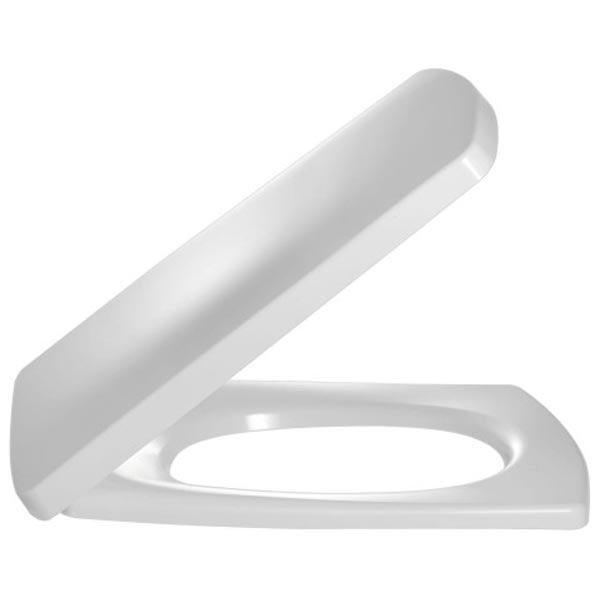 Escale E70004-00 Белая МикролифтКомплектующие<br>Крышка-сиденье Jacob Delafon Escale E70004-00 из термодюра белая с металлическими шарнирами и механизмом плавное опускание.<br>В составе комплектации крышка-сиденье.<br>
