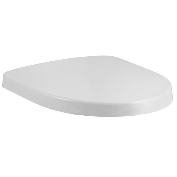 Kandel 8094K-00 БелаяКомплектующие<br>Крышка-сиденье Jacob Delafon Kandel 8094K-00 из термодюра белая.<br>В составе комплектации крышка-сиденье.<br>